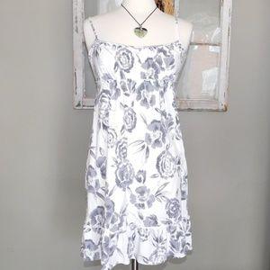 Loft Summer Ruffled Bottom Dress/ Size Medium